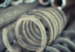 Coil Spring Rusty