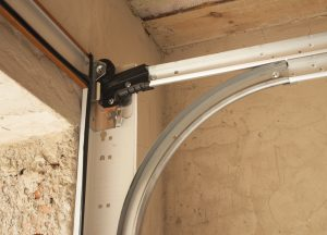 Roller and track garage door