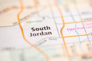 South Jordan, Utah on map
